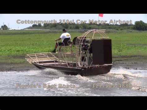 Airboat Fails by Hamant Airboat Waterthunder 500hp Ls2 Doovi