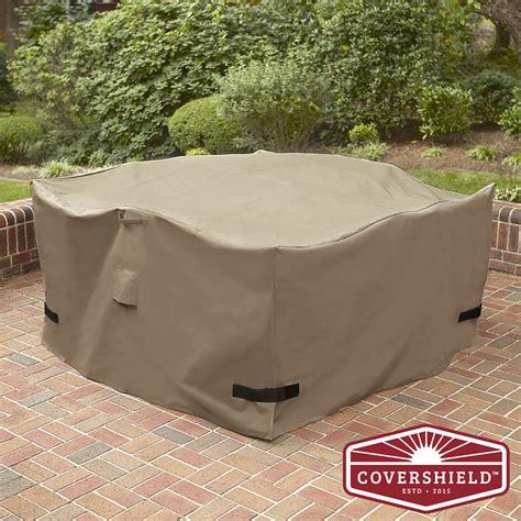 covershield square dining set cover premium 5