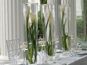 Grand Vase Design : id es de d coration de mariage vert blanc d corations de mariage vertes table mariage et ~ Teatrodelosmanantiales.com Idées de Décoration
