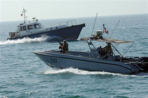Us Navy Boats by File Us Navy 061017 N 8148a 047 A Harbor Patrol Boat Unit