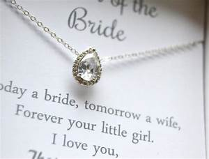 mother of the bride gift crystal necklacemother gift With wedding gifts for mother of bride