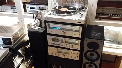 Vintage Stereo Set Sony Studio 550 1978 R