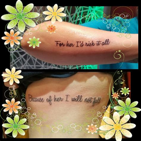 amazing mother daughter tattoos ideas  show