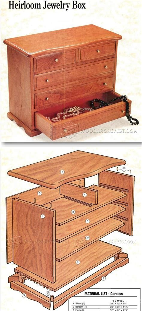 The 25+ Best Ideas About Jewelry Box Plans On Pinterest
