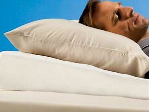 the sleep improving pillow wedge raises the upper body With best wedge pillow for sinus congestion
