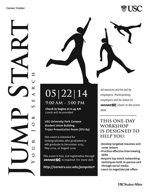 Usc Resume Workshop by Jump Start Your Search Usc Student Affairs