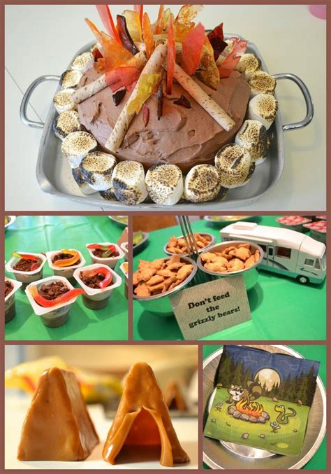 campfire camping birthday ideas for amp campfire 404 | 6e1e54c90a37aaa841ace8a2f2d06ae3 party ideas for kids kids birthday party ideas