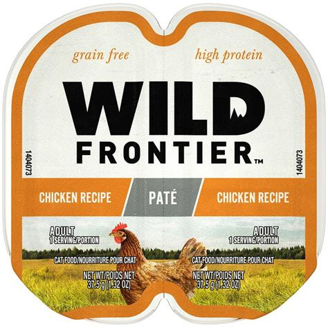 food nutro cat wild frontier grain pate chicken wet beef recipe protein portions adult perfect twin trays packs oz case