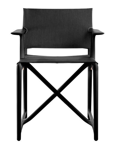 bureau philippe starck fauteuil pliant stanley by philippe starck tissu noir
