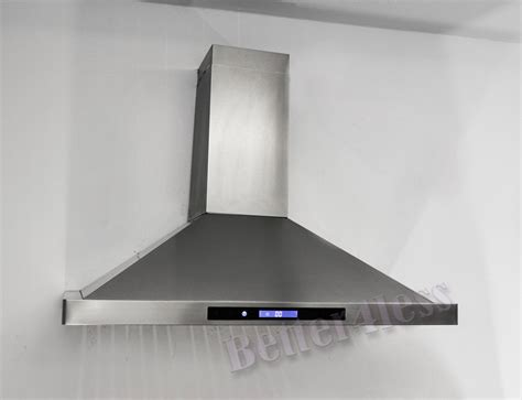 Kitchen Oven Vent by Details About 36 Quot Wall Mount Stainless Steel Kitchen Range