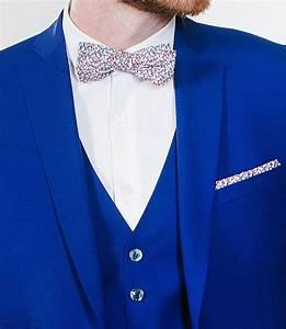 Costume Sur Mesure Mariage : costume 3 pi ces bleu roi samson sur mesure ~ Melissatoandfro.com Idées de Décoration