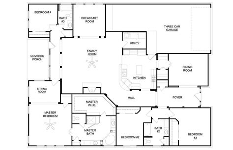 Six Bedroom House Plans by 6 Bedroom Single Story House Plans Australia Arts House