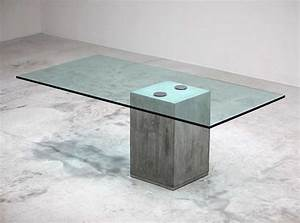 Möbel Aus Beton : tische aus beton die neueste innovation der ~ Michelbontemps.com Haus und Dekorationen
