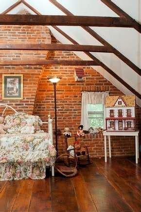 attic exposed beamsrafters love  floor finish