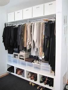 Rangement Chaussures Penderie : clothes closets penderie toute longueur rangement ~ Premium-room.com Idées de Décoration