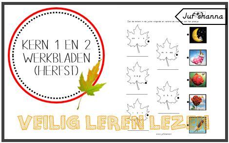 Veilig Leren Lezen Kern 1 Werkbladen by Thema Herfst Veilig Leren Lezen Kern 1 2 Herfst