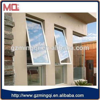 cheap price plastic awning windowexterior double glazed