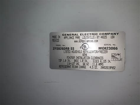 service manual  ge monogram sxs zfsbdrbss appliance service manual requests