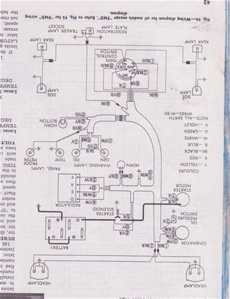 Fordson Major Wiring Diagram by Power Major Wiring Diagram Yesterday S Tractors
