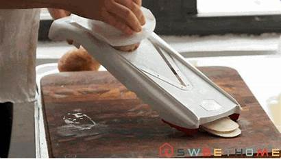 Potato Mandoline Chips Wirecutter Slice Slicing Giphy