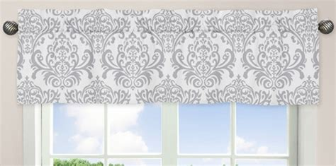 Sweet Jojo Elizabeth Curtains by Pink Gray And White Elizabeth Window Valance By Sweet