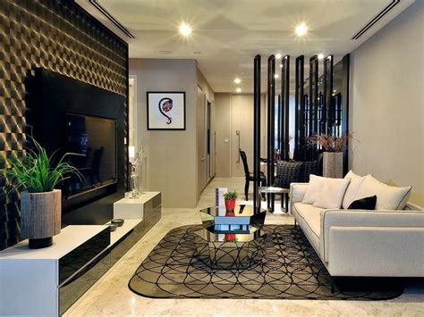 beautiful interiors of homes small modern divider for living room