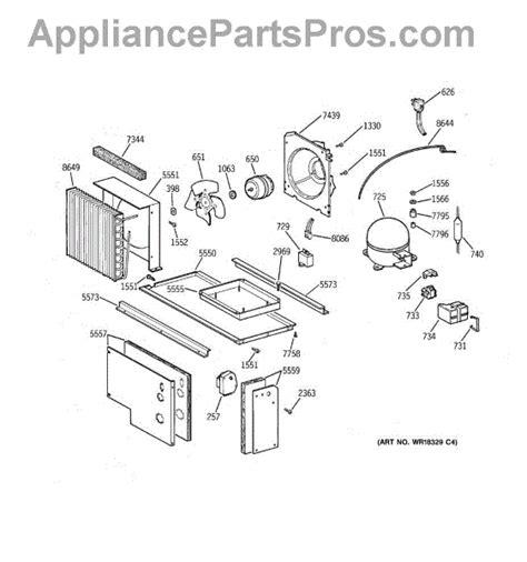 parts  ge zisbdca unit parts appliancepartsproscom
