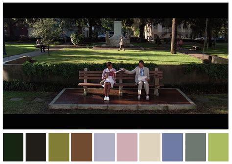 color palettes  famous movies show  colors set