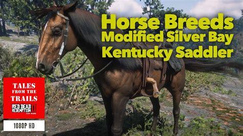 rdr2 horse kentucky saddler breeds silver bay guide