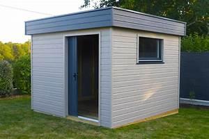 Abri De Jardin Pvc Toit Plat : abri de jardin toit plat sur mesure en bretagne ~ Dailycaller-alerts.com Idées de Décoration