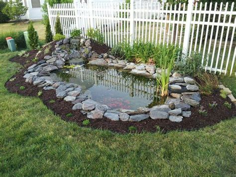 backyard pond backyard pond gardening pinterest