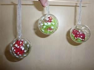 Boule De Noel A Fabriquer : fabriquer boule de noel en patchwork klicit ~ Nature-et-papiers.com Idées de Décoration