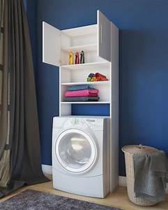 Regal Für Waschmaschine : waschmaschinenschrank wei regal f r waschmaschinen modell jutas m bel ~ Sanjose-hotels-ca.com Haus und Dekorationen
