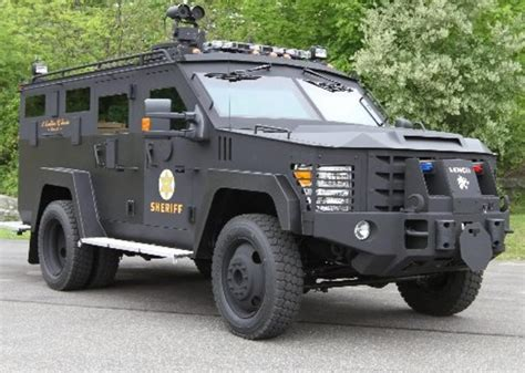 County may consider a new armored vehicle for Sheriff ...