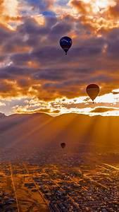 Hot, Air, Balloons, Clouds, Sunset, Free, 4k, Ultra, Hd, Mobile, Wallpaper
