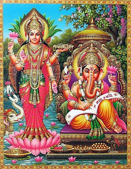 lakshmi and ganesha