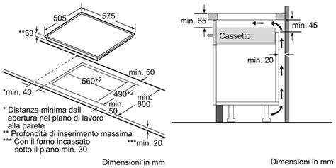 piano cottura dimensioni recensione piano cottura ad induzione bosch pie645q14e by
