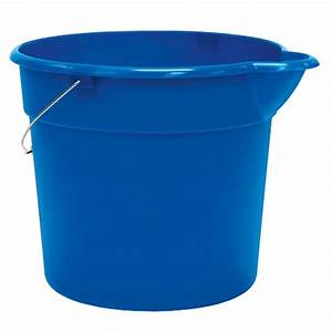 United Solutions 12 Qt Pail in Blue (Case of 24)-PA0010