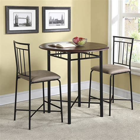 high top table sets  create  entertaining dining space