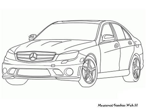 Gambar Mobil Gambar Mobilmercedes S Class by Mewarnai Gambar Mobil Mercedes Mewarnai Gambar