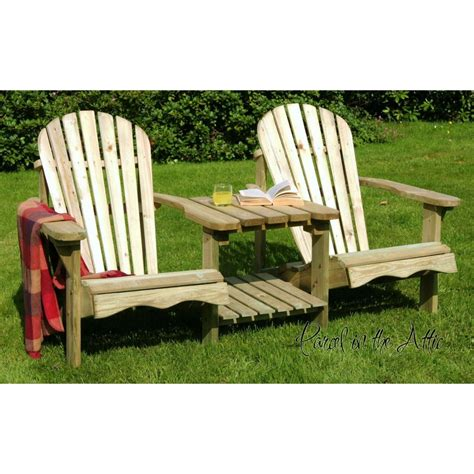solid wood adirondack chair parcel in the attic