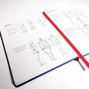 Idraw Comics Sketchbook  U0026 Reference Guide
