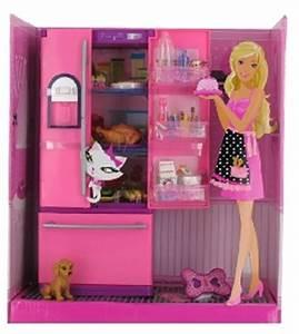 Kit Mobilier Barbie Table Des Jeux Et