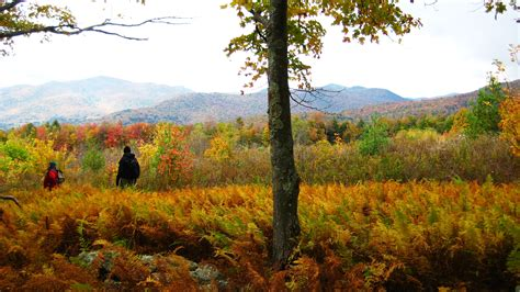 fall foliage hiking vacations in the green mountains of vermont with appalachian trail