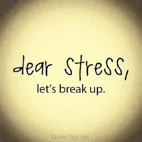 dear stress lets breakup pictures   images