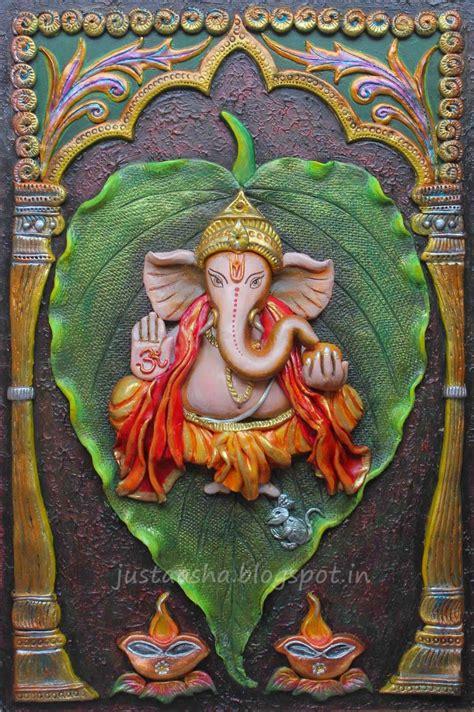 imprints happy ganesha chaturthi ganesha painting