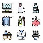 Restroom Symbol Bathroom Iconos Aseo Area Vectorified