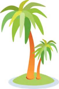 vector palm tree clip trees clipart wikiclipart