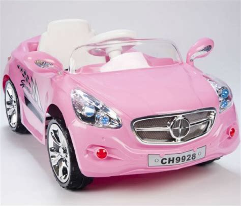 kids amg style girls pink ride rc car remote control electric