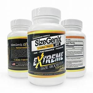 Sizegenix Extreme All Natural Male Enhancement 100  Natural